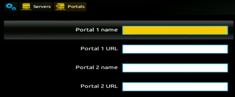 How to add an IPTV portal on MAG 250 254 256 Portals